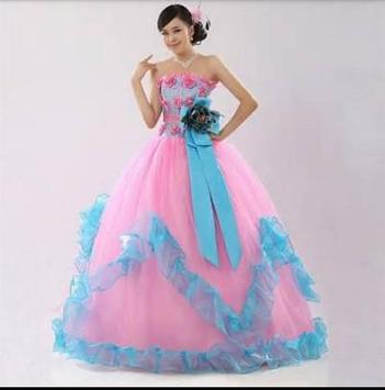 Colourful Wedding Dress idea apk screenshot