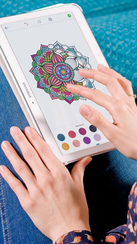 Android 用の マンダラ塗り絵 大人の塗り絵 Apk をダウンロード