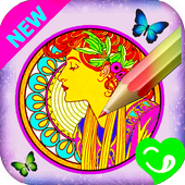 Coloring Book For_Adults icon