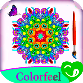 Coloring books For_Adult icon