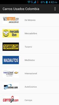 Carros Usados Colômbia poster