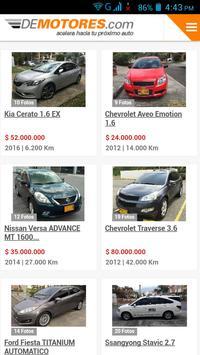 Carros Usados Colômbia screenshot 1