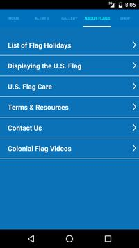 Colonial Flag App screenshot 2