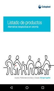 Listado de Productos Coloplast poster