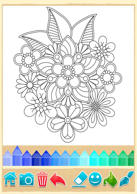 mandala para colorir apk baixar gr tis casual jogo para android. Black Bedroom Furniture Sets. Home Design Ideas