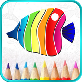 Paint by Number - Colorful Book icon