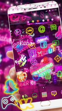 Neon Night Club Theme – Neon light apk screenshot