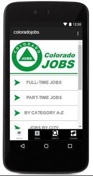 Colorado Jobs poster