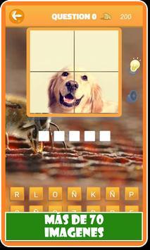 Animales: Cuestionario de animales en español screenshot 2