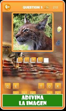 Animales: Cuestionario de animales en español screenshot 7