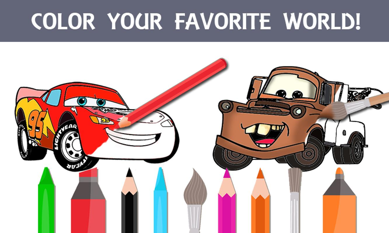 Mcqueen Coloring pages Cars 3 for