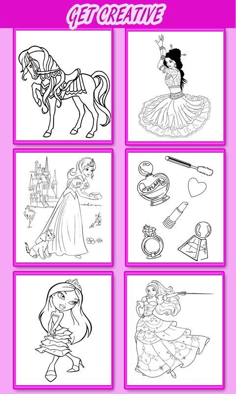 Princesa para colorear para niños Descarga APK - Gratis Educativos ...
