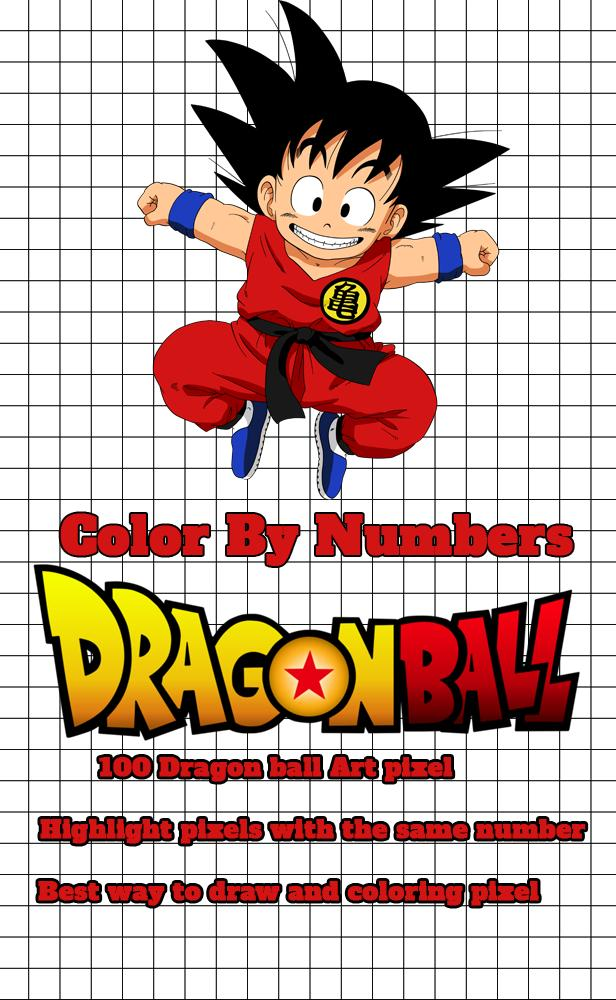 Pixel Art Dragon Ball Color By Number Para Android Apk Baixar