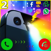 Color Flashlight Alerts: Call icon
