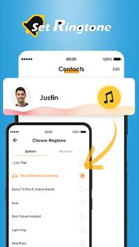 Caller Theme Screen - Color Phone & LED Call Flash screenshot 1