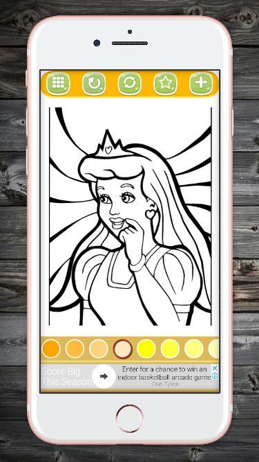 Cocuklar Icin Prenses Boyama Boyama Oyunlari For Android Apk