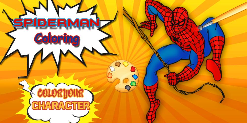 Spider Man Coloring Pages Spider Games For Android Apk Download