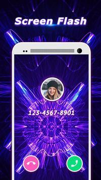 Flash Celular Colorido -Tela e ID de Chamador, LED imagem de tela 1