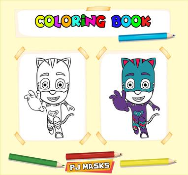 how to color pj masks coloring book for kids APK Download - Free Art ...