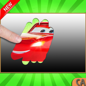 Scratch guess cars Mcqueen icon