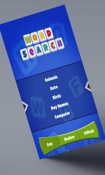 Word Search Puzzle Game apk screenshot