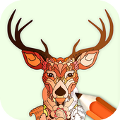 Animal Coloring Book Enchanted Forest APK