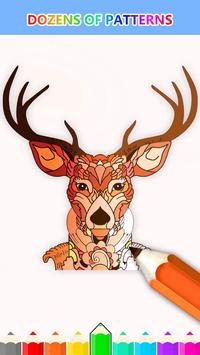 Animal Coloring Book Enchanted Forest Apk Screenshot
