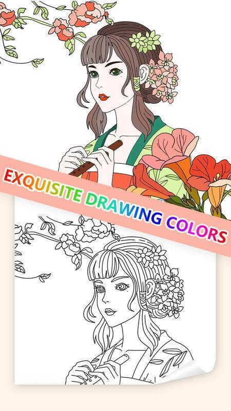 Libro para colorear las flores: Tu colorido jardín Descarga APK ...