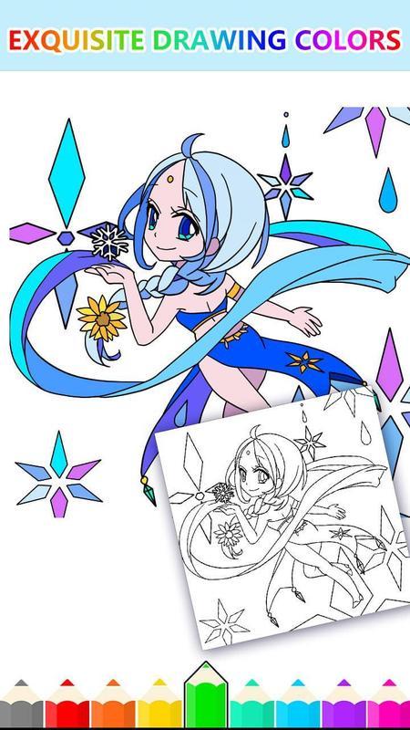 Libro para colorear para niños Magic Garden gratis Descarga APK ...
