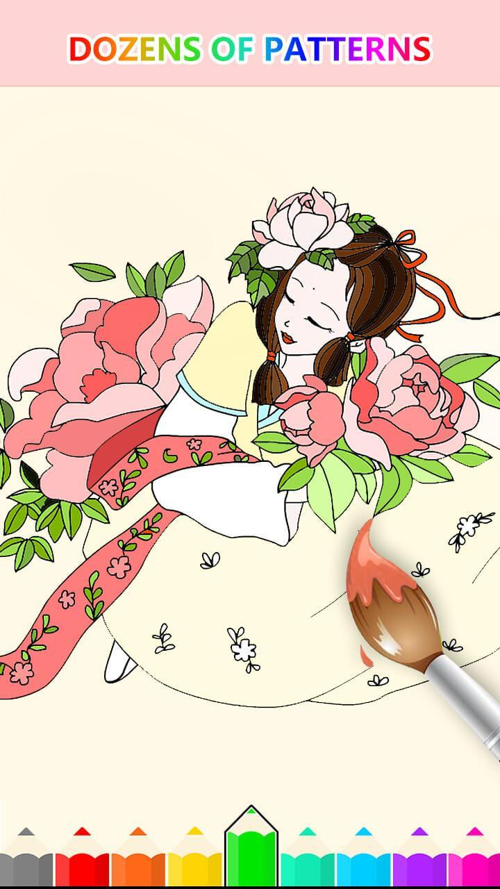 Girl Coloring Pages – coloring.rocks! | 1280x720