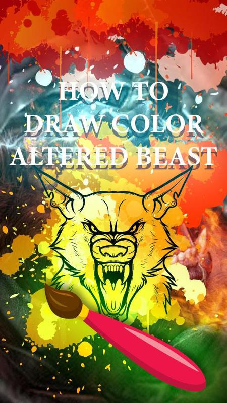 Fun Altered-Beast Coloring Online Game APK Download - Free Education ...