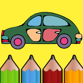 Car Coloring Book for Kids icon