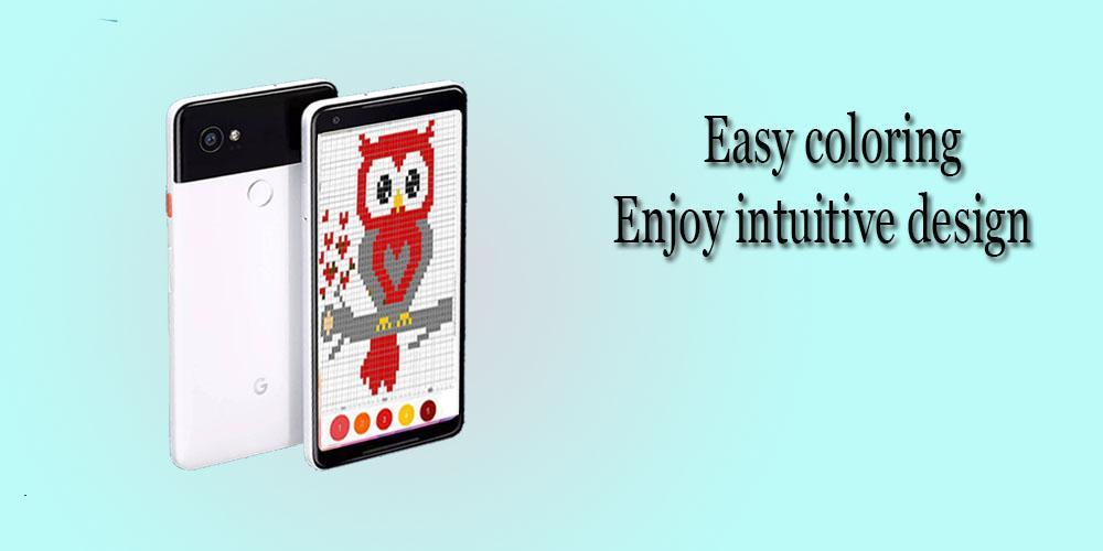 Sand Box Color By Number Draw Coloring Pages For Android Apk