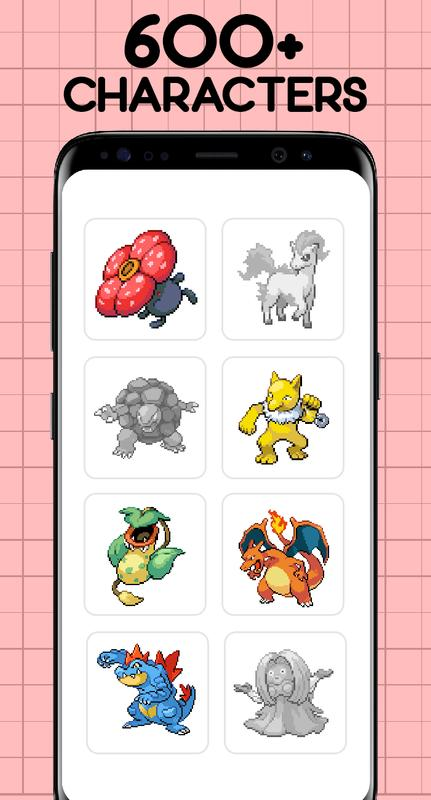 Color by Number - Pokemon Pixel Art Free for Android - APK Download