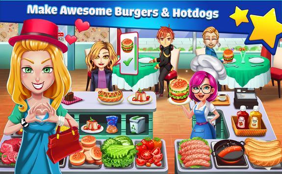 Cooking Star Chef تصوير الشاشة 8