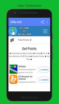Get Paid to Install App screenshot 1