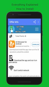 Get Paid to Install App screenshot 2