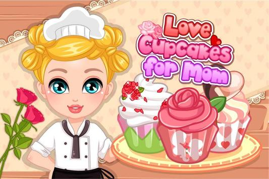 Love Cupcakes for Mom poster