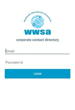 WWSA Contacts apk screenshot