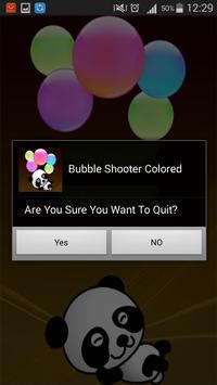 Bubble Shooter Colored apk screenshot