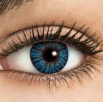 Contact lenses color poster