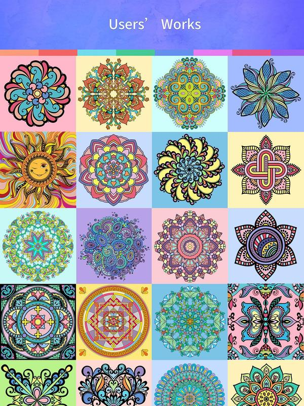 Mandalas Coloring Pages Apk