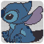 Color By Number Sandbox Lilo Coloring Stitch icon