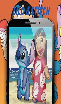 Color By Number Sandbox Lilo Coloring Stitch screenshot 2