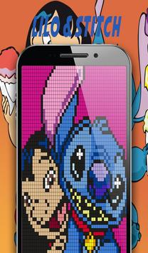 Color By Number Sandbox Lilo Coloring Stitch screenshot 5