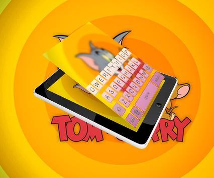 Tom Keyboard and Jerry Theme apk screenshot