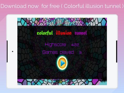 super 3D  colorful illusion tunnel screenshot 7