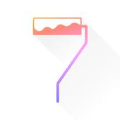 Colorful U icon