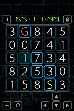 Path Finding - Numeric Puzzle poster
