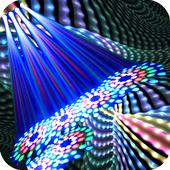 Disco light:Flashlight with Music led light icon